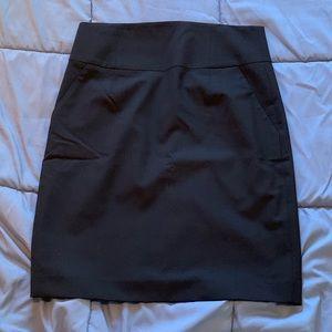 Banana Republic black wool pencil skirt NWT